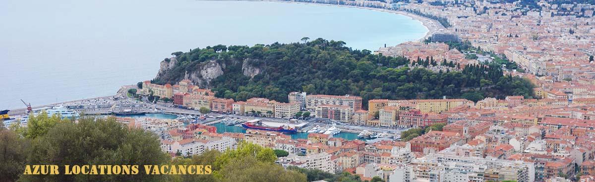 Colline du château à Nice