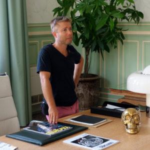 Bureau cinéma au palais des ducs de Savoie